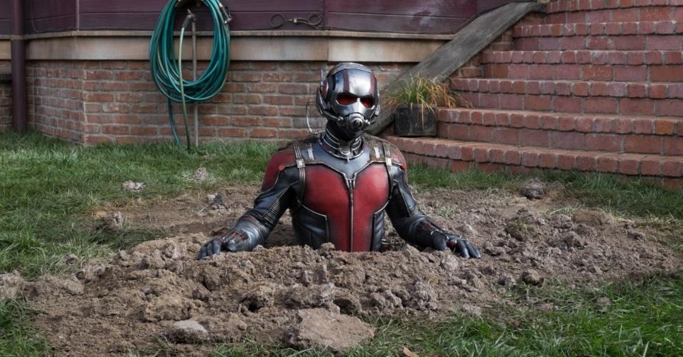 """Cena do filme """"Homem-Formiga"""""""