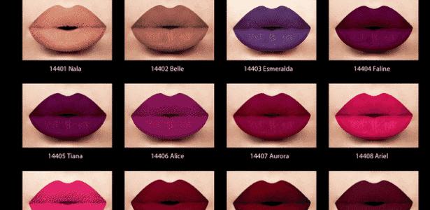 A LA Splash Cosmetics fez linha especial com 12 cores - Divulgação - Divulgação