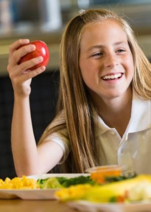 Com mais tempo, crianças comem melhor - Getty Images