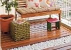 Descubra como deixar os seixos brancos e preservados na varanda - Luis Gomes/ Revista Minha Casa