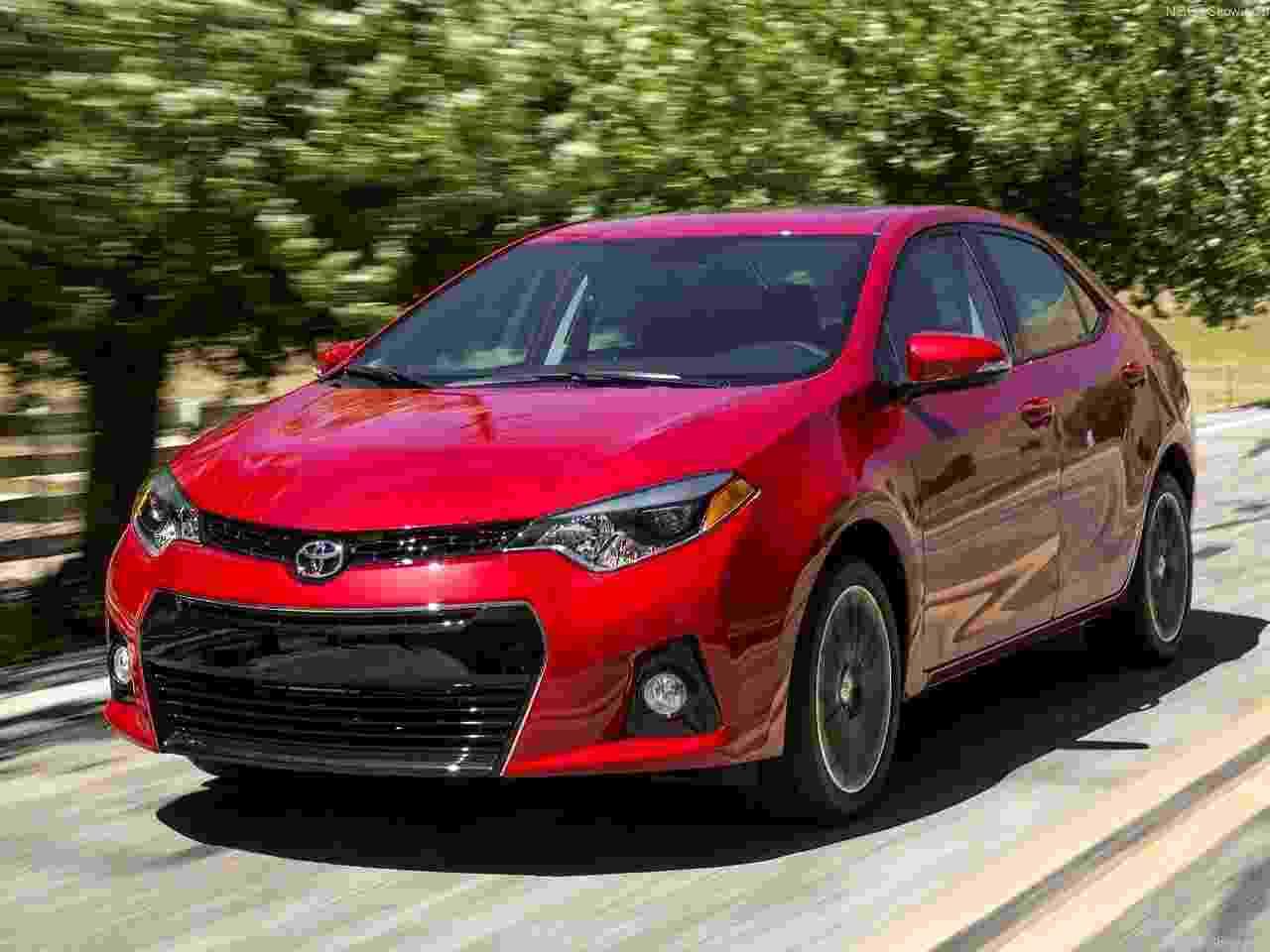 Toyota Corolla EUA - Divulgação