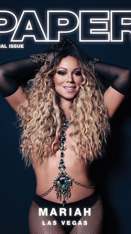 Mariah Carey vai voltar a se apresentar em Vegas - Reprodução/Instagram Paper Magazine