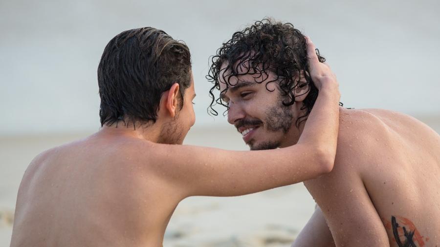 """Carol Duarte e Gabriel Stauffer gravam cena final entre Ivan e Cláudio em """"A Força do Querer"""" - Isabella Pinheiro/TV Globo"""