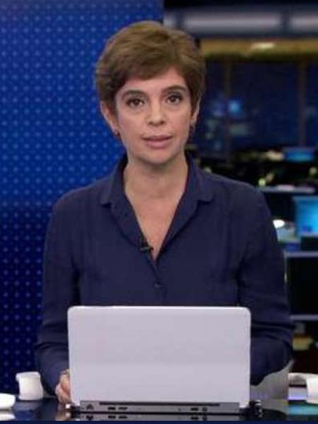 Renata Lo Prete substitui William Waack - Reprodução/TV Globo