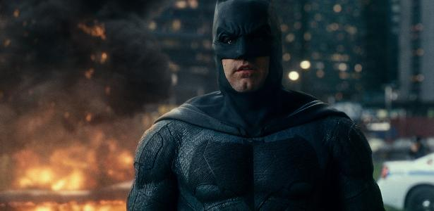 """Ben Affleck em cena de """"Liga da Justiça"""""""