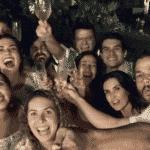 Fátima Bernardes e Túlio Gadêlha comemoram a chegada de 2018 em festa com amigos - Reprodução/Instagram/fatimabernardes