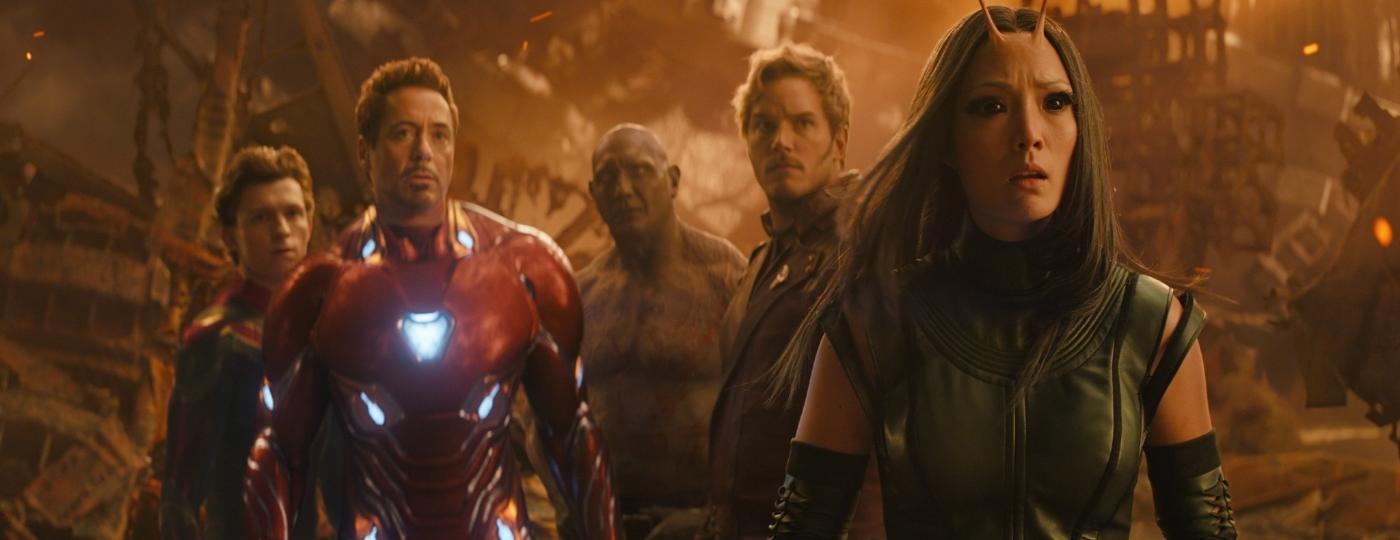 """Cena de """"Vingadores: Guerra Infinita"""" - Divulgação/Marvel"""