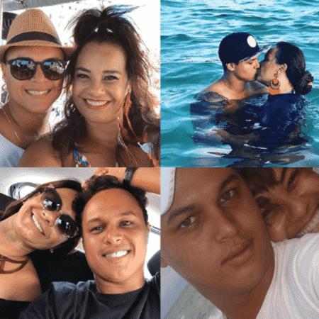 Solange Couto e Jamerson Andrade - Reprodução/Instagram