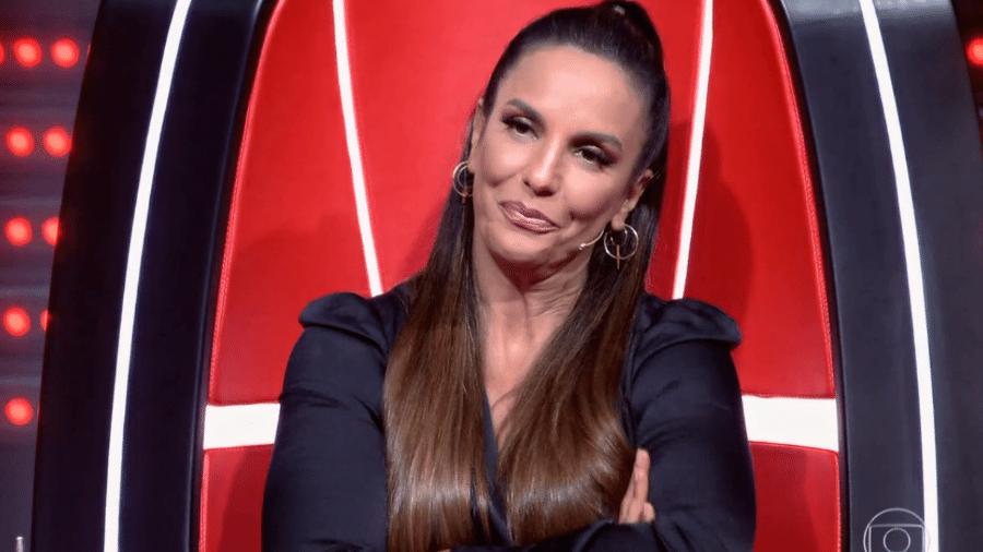 "Ivete Sangalo fica ""pistola"" no The Voice Brasil - Reprodução"