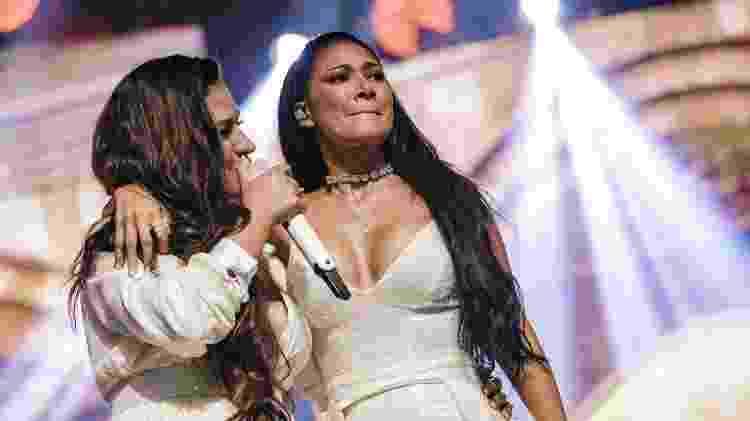 Simone e Simaria cantam em show no Espaço das Américas, em São Paulo - Mariana Pekin/UOL