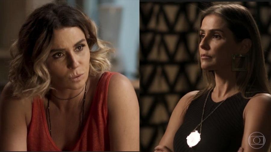 Luzia fará Karola confessar que roubou seu filho - Reprodução/Globo