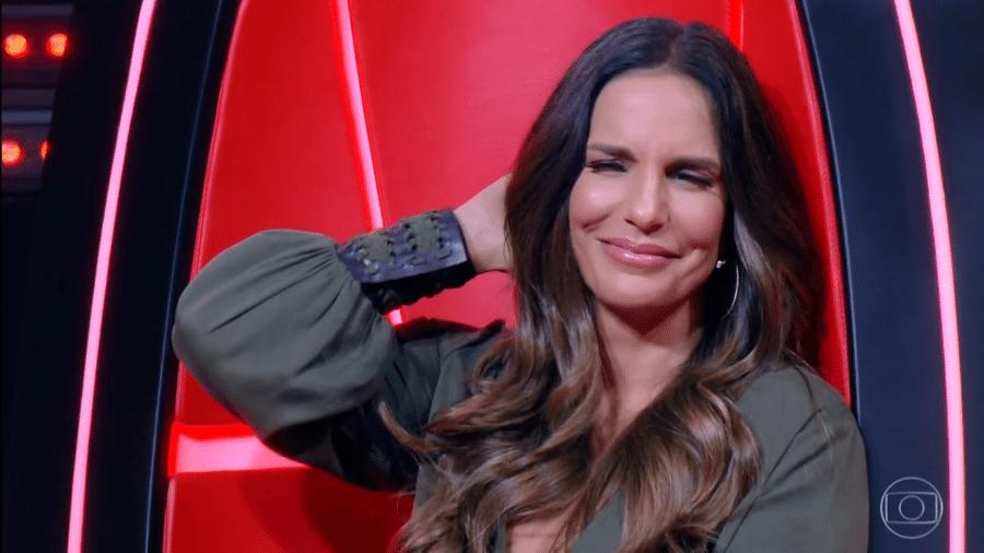 Ivete Sangalo no The Voice Brasil - Reprodução/TV Globo