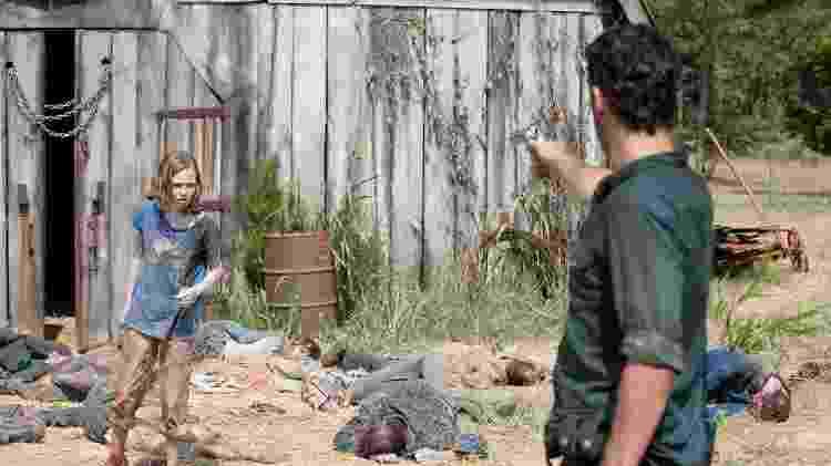 Celeiro de The Walking Dead - Reprodução - Reprodução