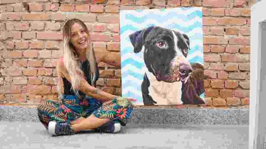 Gabriela Rossato é estudante de arquitetura e transformou sua paixão por animais em negócio - Divulgação