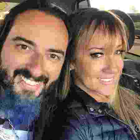 Vivi Fernandez e Adriano Daga estão juntos há cerca de cinco meses - Arquivo pessoal - Arquivo pessoal
