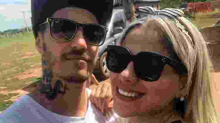 Vanessa Mesquita está namorando há três meses o cozinheiro Martin Scholl - Arquivo pessoal - Arquivo pessoal