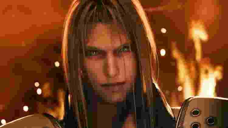 Final Fantasy VII Remake - Sephiroth - Divulgação - Divulgação