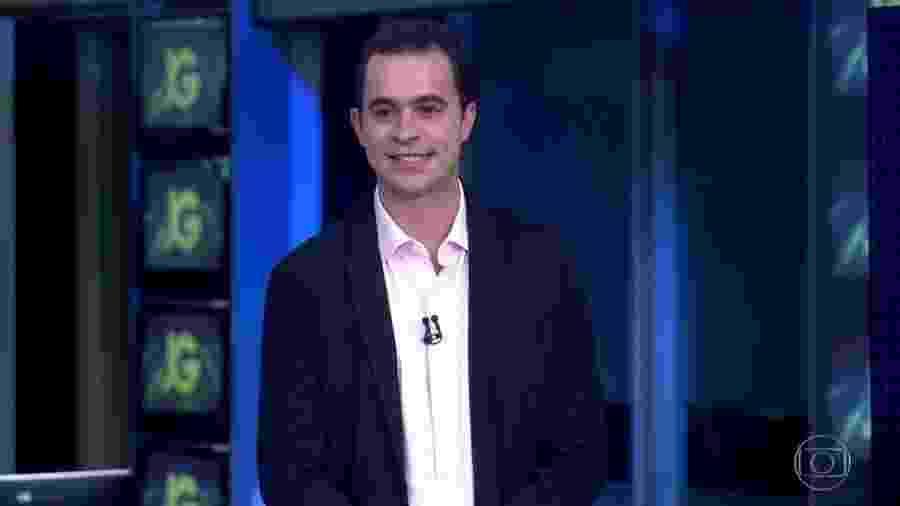 Guilherme Pereira estreia como apresentador do bloco de esportes do Jornal da Globo - Reprodução/TV Globo