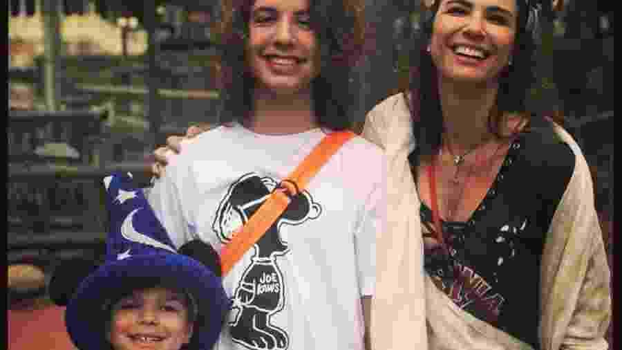 Luciana Gimenez e os filhos: Lorenzo e Lucas - Reprodução/Instagram
