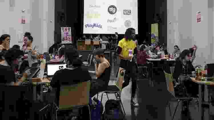 Game Jam maratona de desenvolvimento de jogos - Gabriela Cais Burdmann/UOL - Gabriela Cais Burdmann/UOL