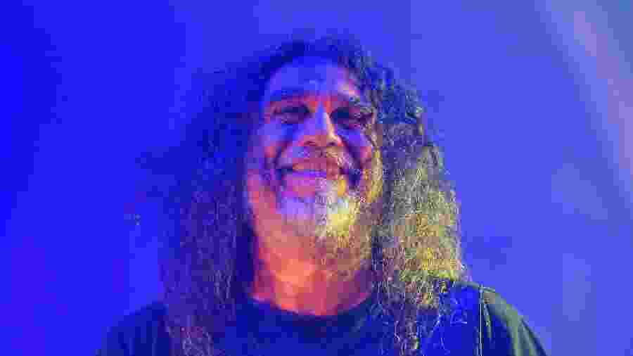 Tom Araya, vocalista e baixista da banda Slayer, no Rock In Rio 2019 - DHAVID NORMANDO/FUTURA PRESS/ESTADÃO CONTEÚDO