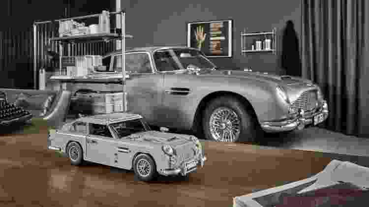 Reprodução do Aston Martin DB5 de Bond tem até assento ejetor - Divulgação