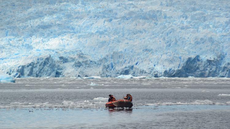 Glaciar San Rafael - Mari Campos/UOL
