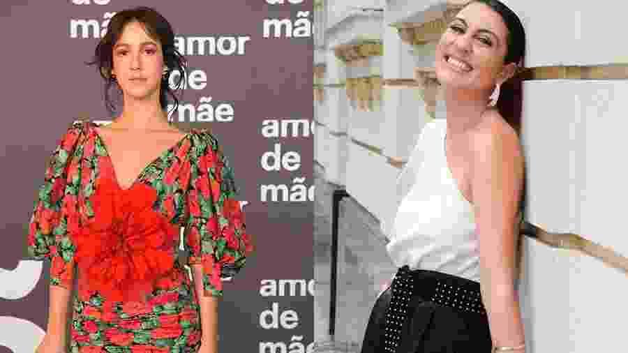 Camila Márdila e Clarissa Pinheiro estão no elenco de Amor de Mãe - Estevam Avellar/Globo e Reprodução/Instagram
