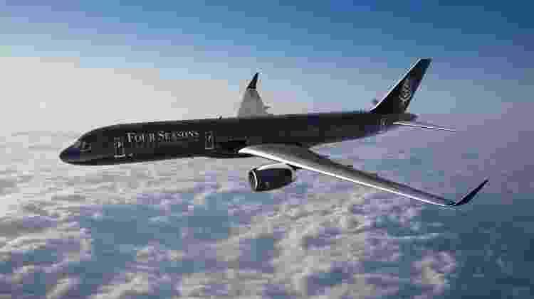 Avião da rede four seasons - Divulgação - Divulgação