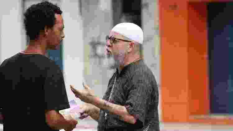 César Kaab Pugnaz (à direita) ganhou um processo na Justiça pelos ataques que sofreu nos últimos anos - Rafiq Aires