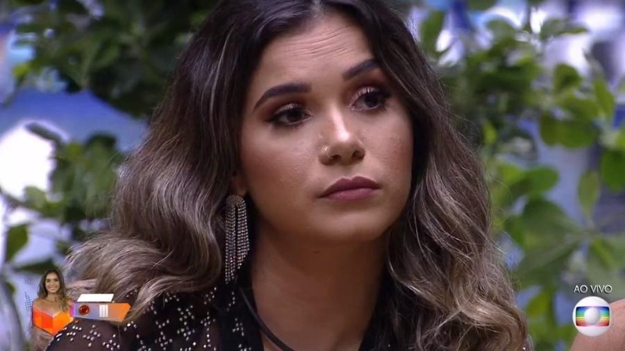 Gizelly - Reprodução/TV Globo