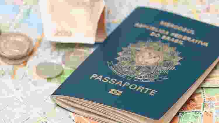 Passaporte brasileiro - Getty Images/iStockphoto - Getty Images/iStockphoto