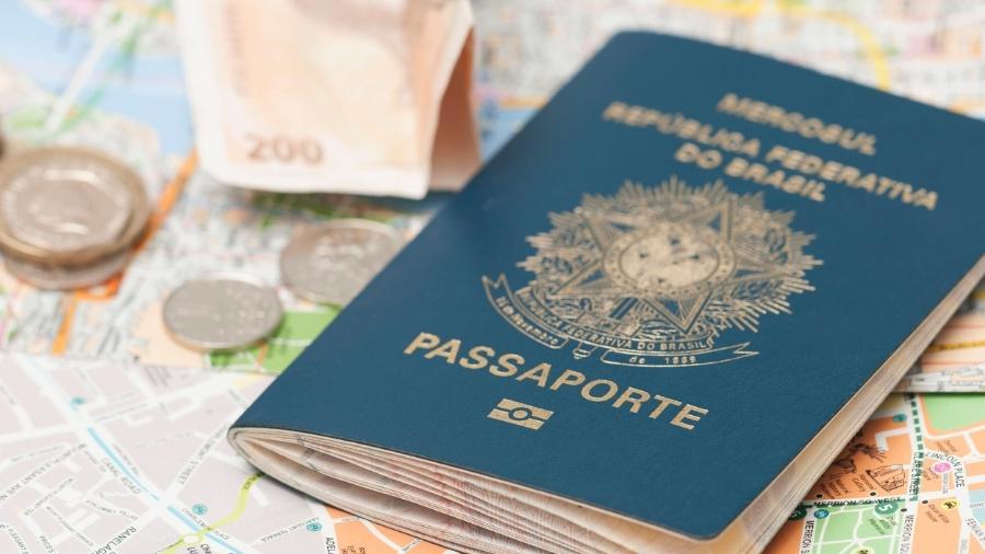 Passaporte brasileiro - Getty Images/iStockphoto