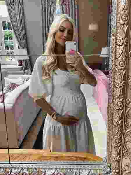 A modelo e atriz irlandesa Rosanna Davison está grávida de gêmeos - Reprodução/Instagram @rosanna_davison