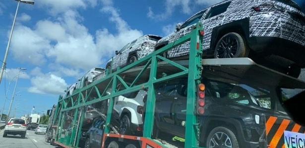 Veículos camuflados | Novo SUV de 7 lugares da Jeep e Compass turbo são flagrados