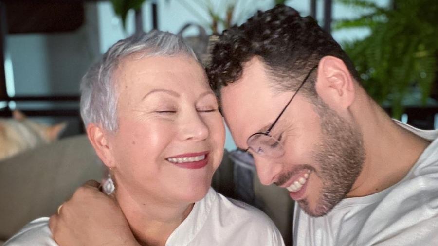 """Abner e Telma estão juntos há 21 anos: """"Ele era amigo do meu filho"""" - Acervo pessoal"""