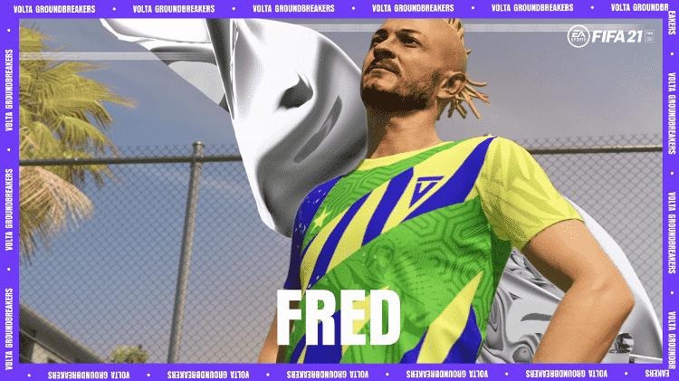 FIFA21 Volta Fred - Divulgação/EA - Divulgação/EA
