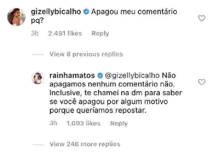 Gizelly e Rainha Matos - Reprodução/Instagram - Reprodução/Instagram