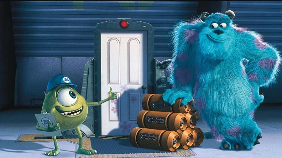 """Cena do filme """"Monstros S.A."""", lançado em 2001 - IMDB"""