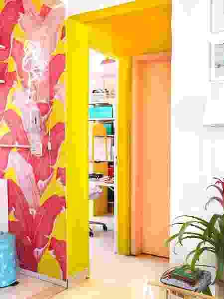 Hall colorido do apartamento - Arquivo Pessoal - Arquivo Pessoal