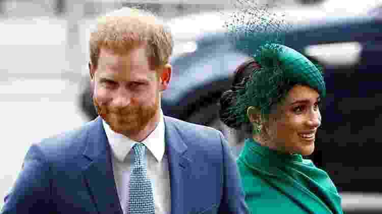 O duque e a duquesa de Sussex agora vivem nos EUA com o filho pequeno, Archie - Reuters - Reuters