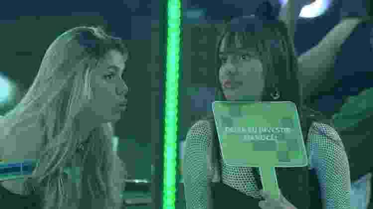 BBB 21: Viih Tube e Thaís falam sobre paredão - Reprodução/Globoplay - Reprodução/Globoplay