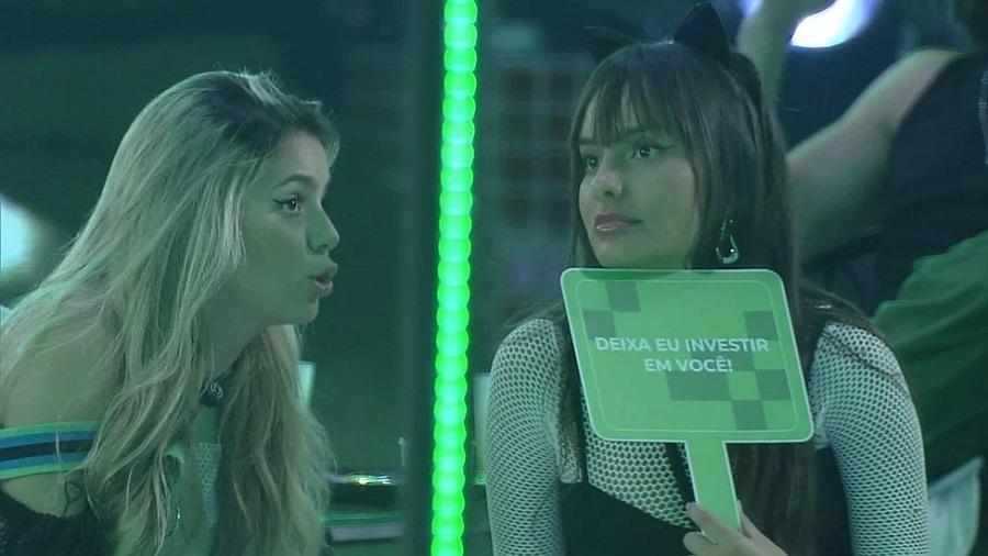 BBB 21: Viih Tube e Thaís falam sobre paredão - Reprodução/Globoplay