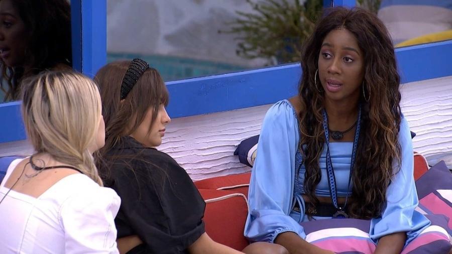 BBB 21: Camilla fala sobre motivos que a levaram a votar em Pocah - Reprodução/Globoplay