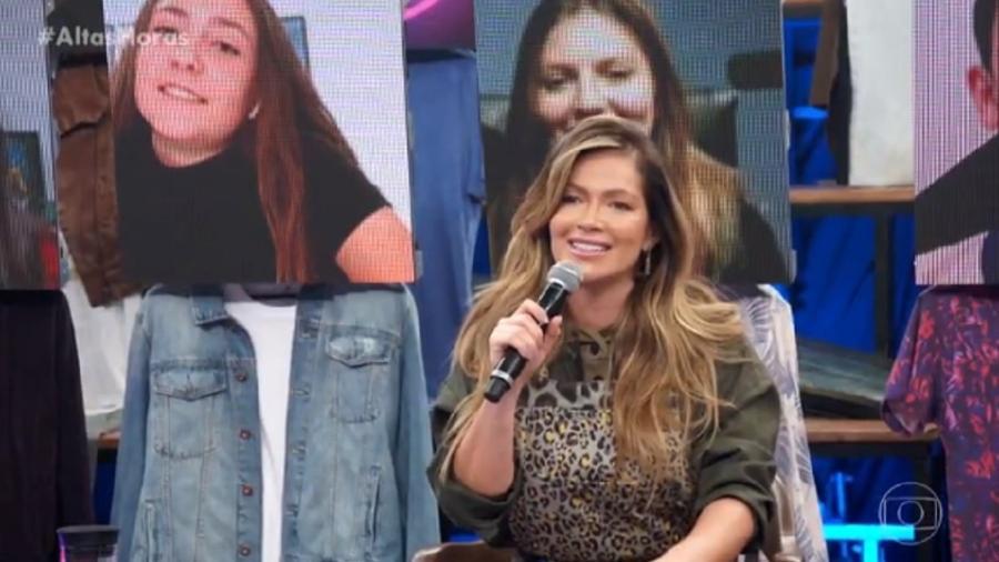 Fani Pacheco no Altas Horas - Reprodução/Globo