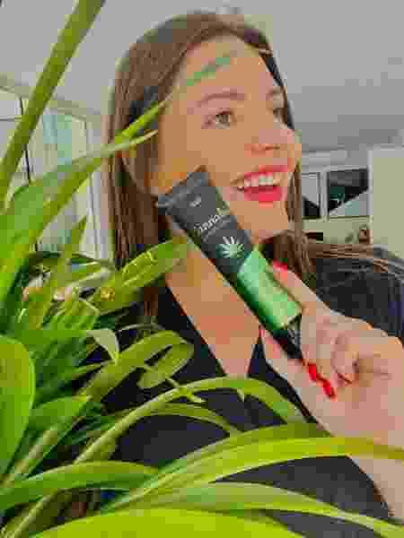 Uma das apostas da INTT Cosméticos, segundo Stephanie, são os óleos e lubrificantes à base de cannabis  - Arquivo pessoal - Arquivo pessoal