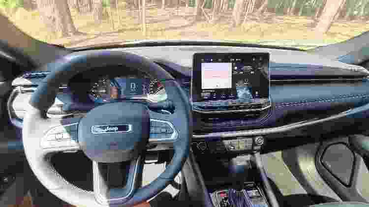 Jeep Compass Longitude diesel 2022 - Rafaela Borges/UOL - Rafaela Borges/UOL