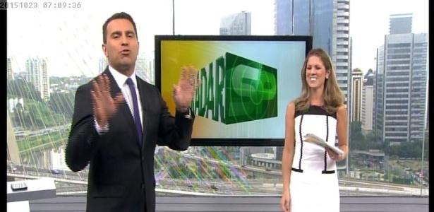 """Noticiário frio: """"Bom Dia São Paulo"""" virou maior jornal meteorológico do país - Reprodução /TV Globo"""