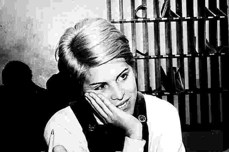 A cantora Vanusa em foto de 1967. - Reprodução