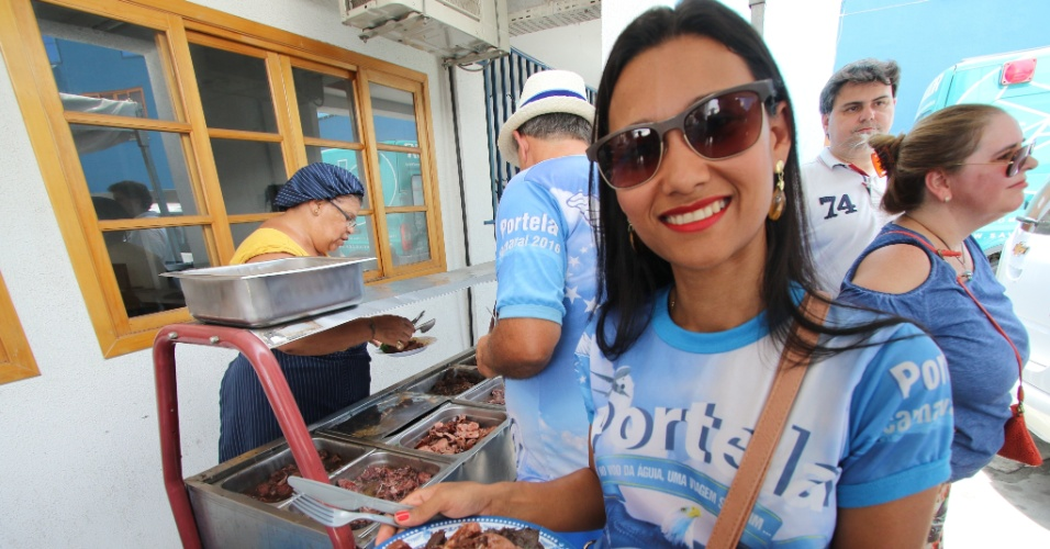 O UOL Carnaval esteve na quadra da Portela durante a feijoada promovida pela escola em 9 de janeiro de 2016